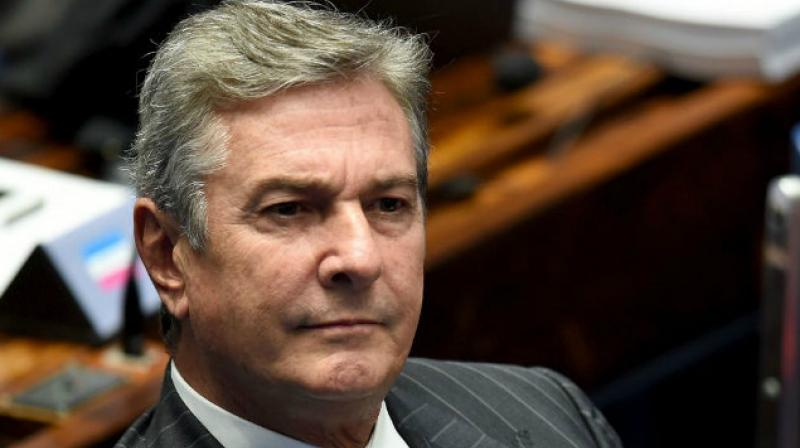 Collor, who resigned as president amid corruption allegations, became the third senator to be formally charged in the investigation of the mega-scandal. (Photo: AFP)