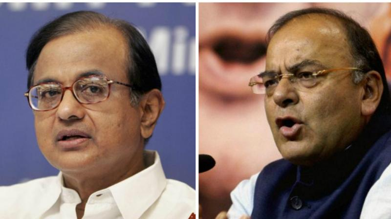 'When the Congress President said -- as I have said -- GST should be a single rate, it means that the standard rate of GST should be a single rate. That's absolutely correct.' P Chidambaram tweeted. (Photo: PTI)