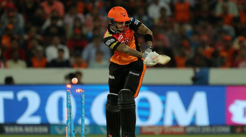 Live cricket score, Sunrisers Hyderabad vs Royal Challengers Bangalore, IPL 2018
