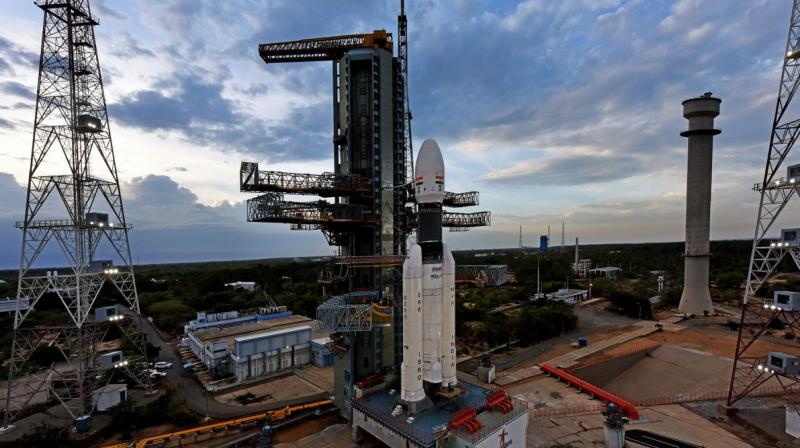 ISRO had lost communication with Vikram Lander of Chandrayaan 2 moments before it was preparing to make a soft-landing on the South Pole region of the Moon. (Photo: ISRO/Twitter)