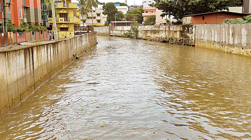 Rapid concretisation of Storm Water Drains, encroachment of lakes and catchment areas and the inappropriate construction of shoulder drains has severely impacted, the city's green cover with areas like Koramangala and Bellandur getting flooded in the monsoon.