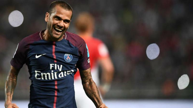 Alves did not reveal where he might go, and leaves PSG as compatriot Leonardo returns as the new sporting director. (Photo: AFP)