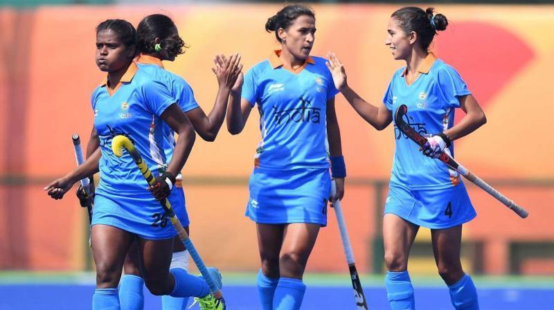 Indian women's hockey team (Photo: AFP)