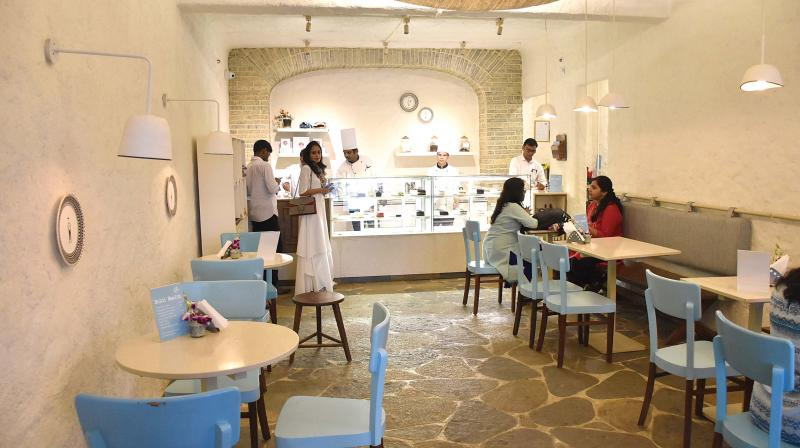 The housewife started Dolci Desserts nine years ago, but the revamped wonderous Mediterranean avatar speaks of calm and contentedness.