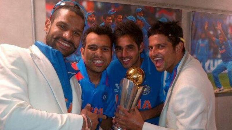 Champions Trophy was contested among top eight teams in 2013 and the group stage involved two groups. (Photo: Rohit Sharma/Twitter)