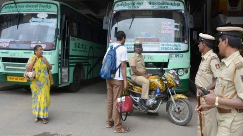 Bus strike over wage hike leaves thousands stranded in Tamil Nadu