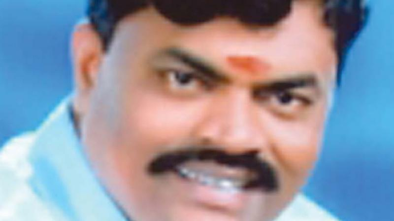 K.T. Rajendra Balaji, Milk and Dairy Development minister.