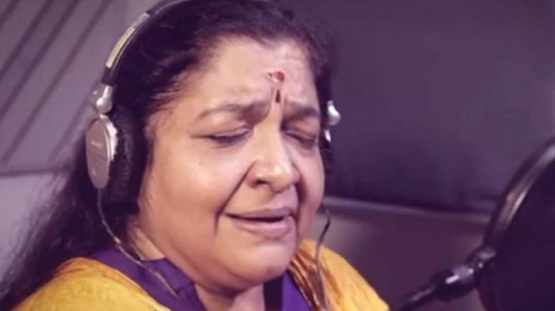 Playback singer Chitra sang a song for LS polls in Kerala. The 4-min election song, Bharatha Bhagya Vidhathakkal Naam written by K. Jayakumar, former chief secretary (Kerala), encourages people to vote without fear.