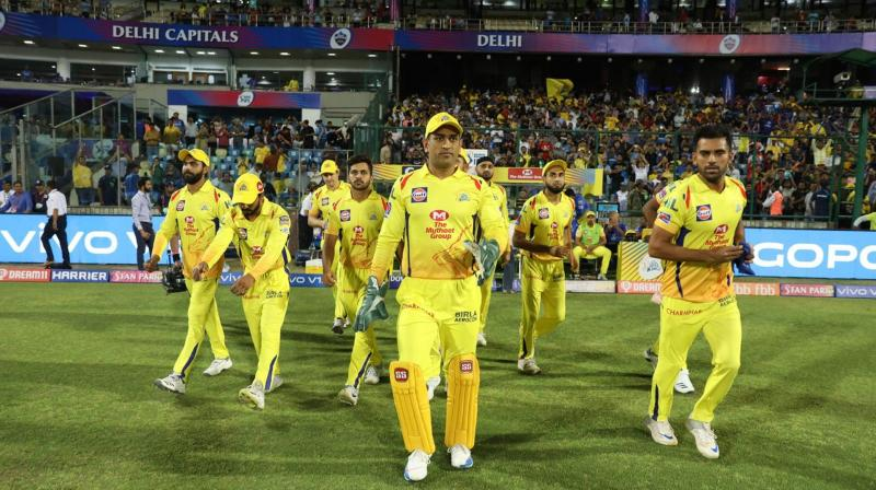 CSK has started the season with two straight wins and will look to keep the momentum going. (Photo: BCCI)