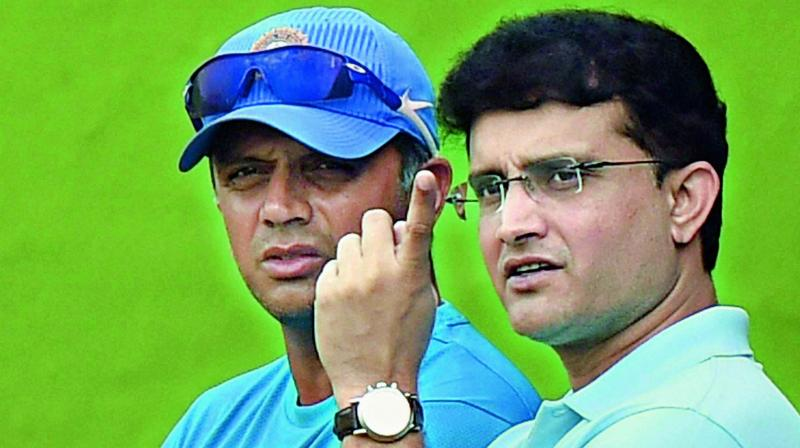 Along with Sachin Tendulkar, Rahul Dravid and VVS Laxman, Ganguly has been at the receiving end of conflict of interest notices for being the Cricket Association of Bengal (CAB) president as well as the mentor of IPL franchise Delhi Capitals. (Photo:File)