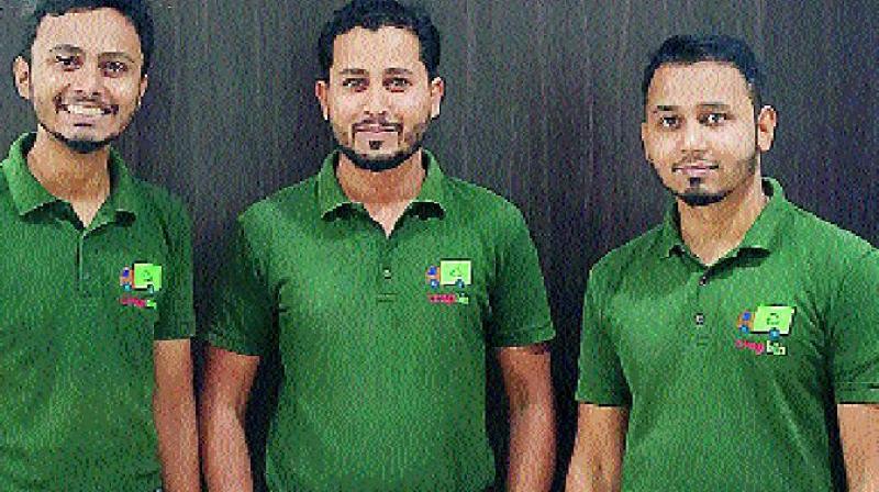 Zuber Ahmed, Nisar Ahmed and Muquayyar Ahmed.