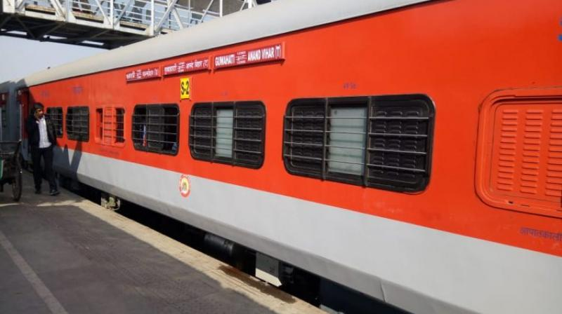 Currently, 411 pairs of trains of Indian Railways are operating with Linke Hofmann Busch (LHB) coaches. (Representational Image)