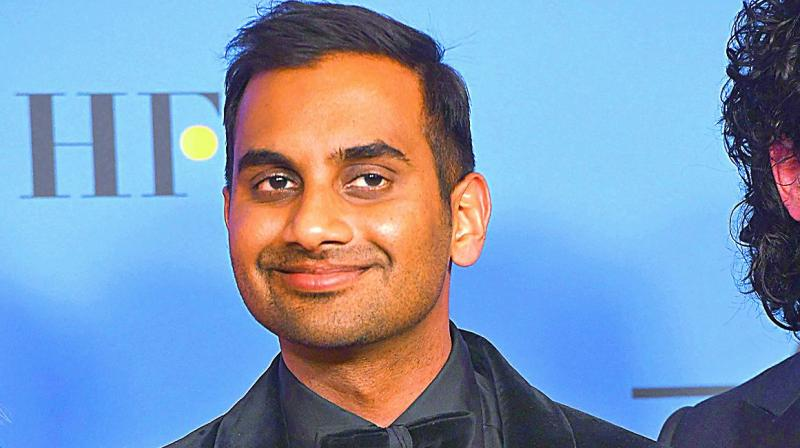 Exactly What Aziz Ansari Said in His Censored Acceptance Speech