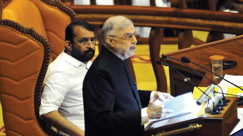 Kerala governor skips critical portions while addressing legislative assembly