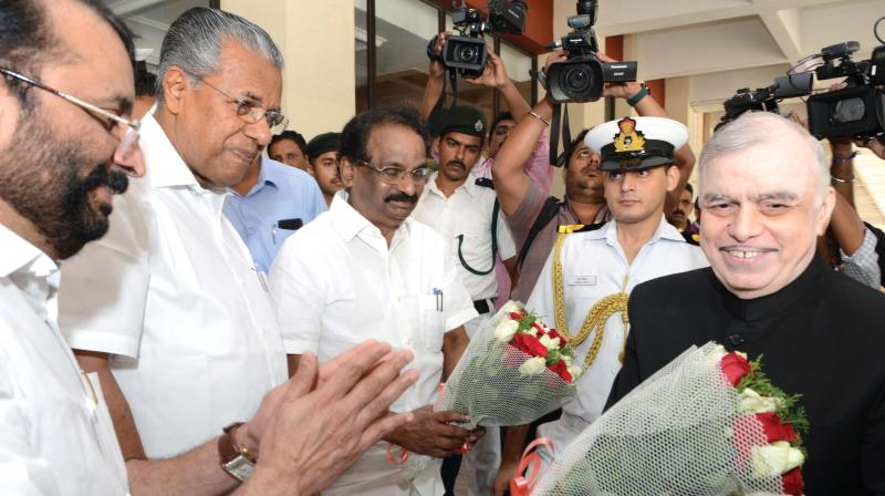 Kerala Guv skips text critical of Centre