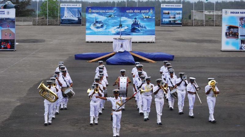 The Indian Navy is planning to organise 'Milan' in March 2020 and expects over 20 nations to participate in the Naval exercise off Vizag coast. (file pic)