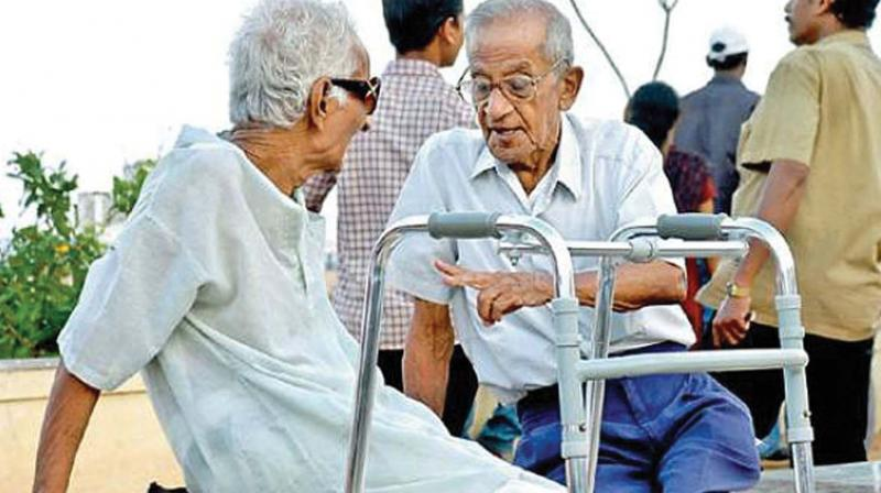 The most recent census, from 2011, suggests that just five per cent of the elderly population suffer from a disability, researchers said.