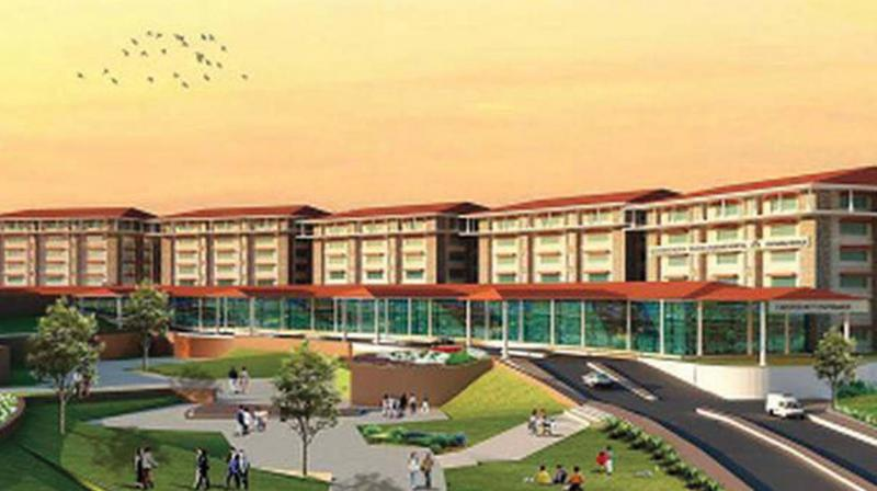 Project plan for MK Jinachandran Memorial Medical College, at Madakkimala, Wayanad.