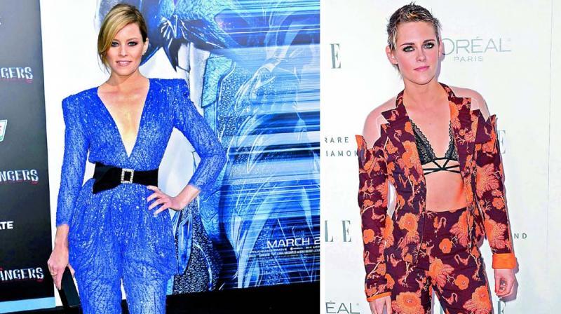 Elizabeth Banks and Kristen Stewart