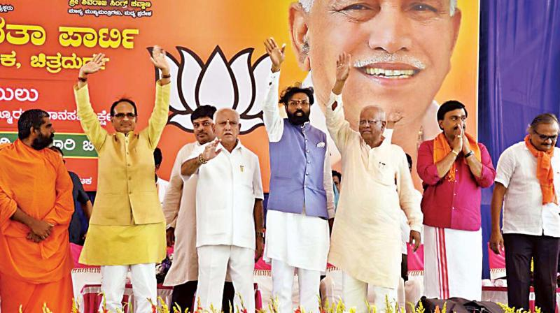Political temperature heats up ahead of Assembly polls in Karnataka