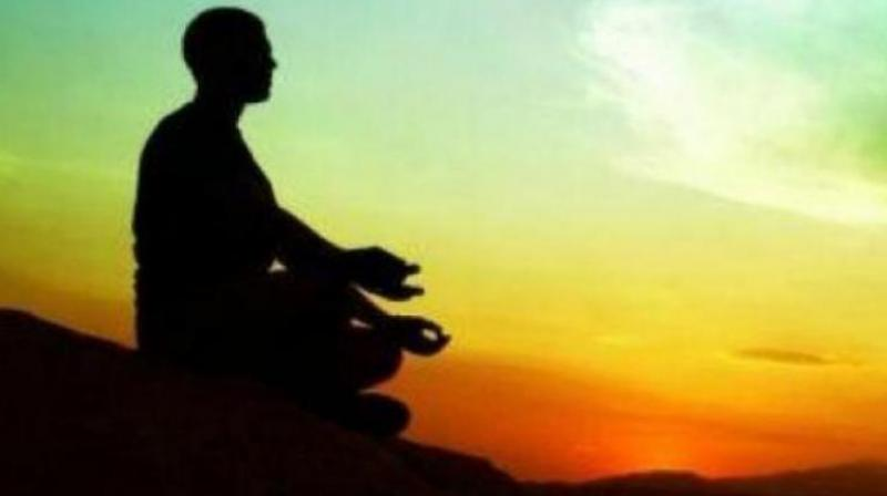 On the spiritual path, success in meditation is to be able to focus within by having a still mind.  (Representational image)