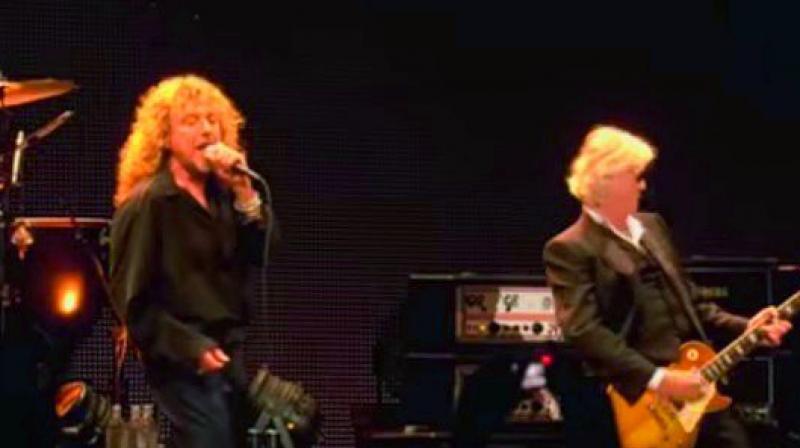 Led Zeppelin concert, 2007.
