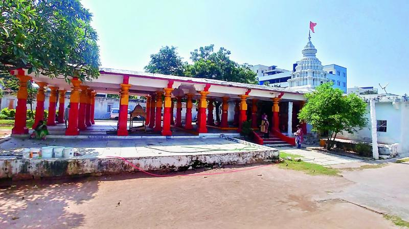 Rambagh temple at Attapur.