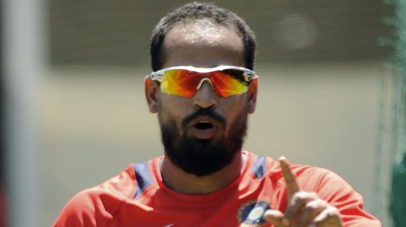 Yusuf Pathan inaugurated the maiden branch of the Cricket Academy of Pathans (CAP) on Tuesday. (Photo: AFP)