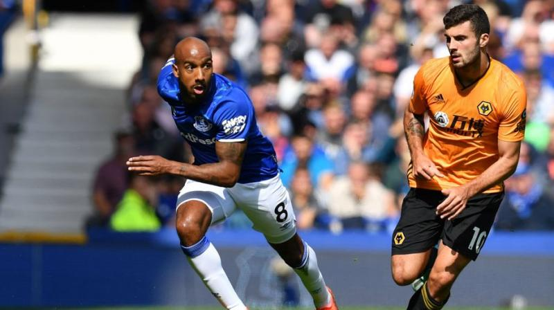 Midfielder Fabian Delph has withdrawn himself from the England squad for the upcoming Euro 2020 qualifying matches due to a hamstring injury. (Photo:AFP)