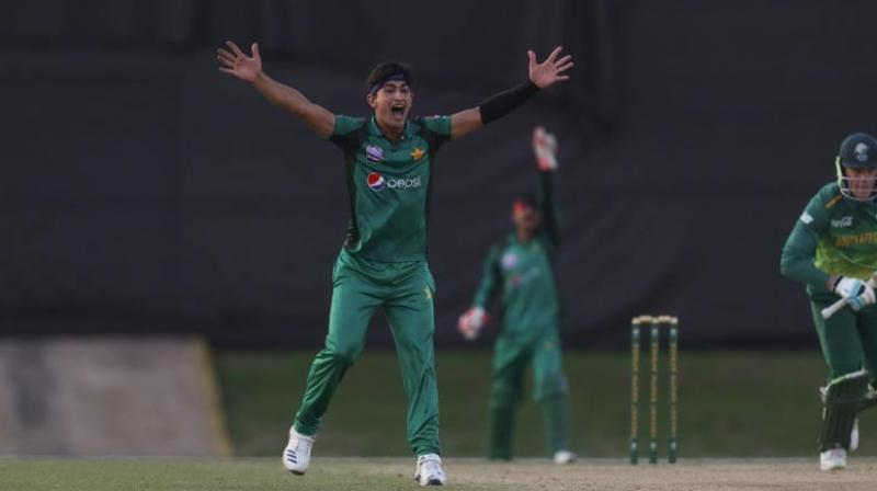 He is only 16 and reeling from his mother's death last week, but Pakistan believe express bowling sensation Naseem Shah can be a match-winner in the opening Test against Australia. (Photo:AFP)