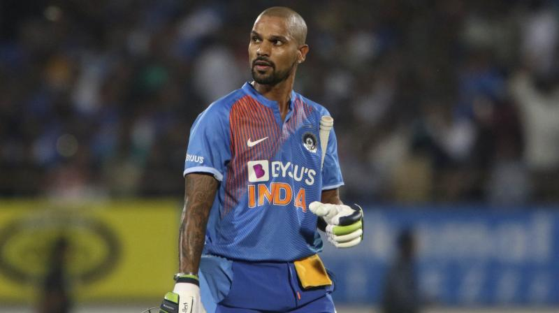 Apparently, it seems that India's prime and limited-overs opener, Shikhar Dhawan is running out of gas, as the southpaw has failed to produce any match winning performances in the shortest format of the game.  During the last 12 T20Is, Dhawan piled up just 272 runs at a strike rate of 110.56. Moreover, among those 12 games, there were five games, in which he had a strike rate below 100. (Photo:AP)