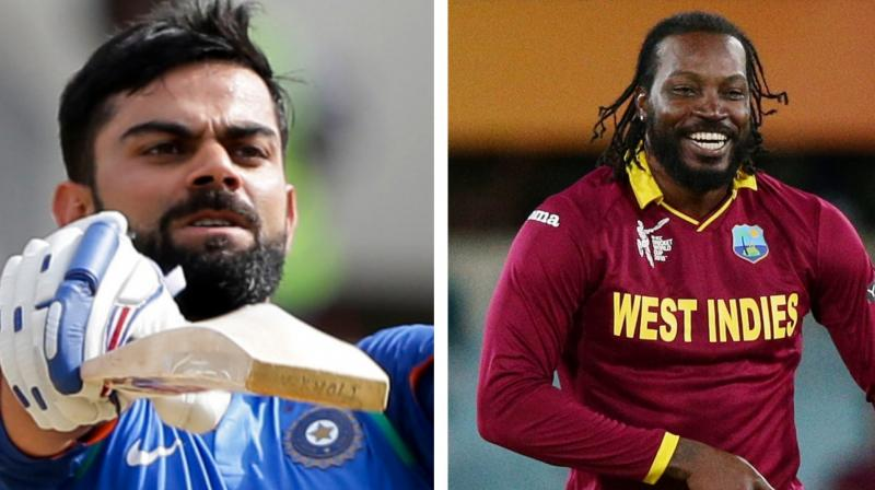 ohli has opened a lot for Royal Challengers Bangalore in the IPL, while Gayle will be donning the Caribbean maroons after a gap 15 months. (Photo: AP)