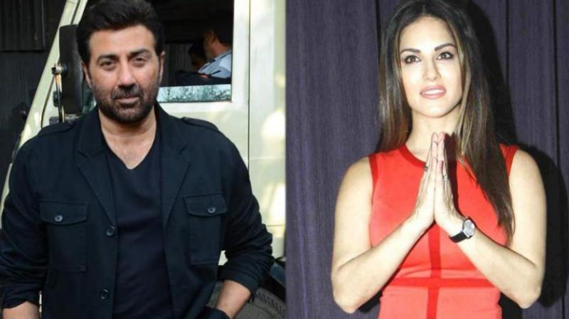 Sunny Deol and Sunny Leone.