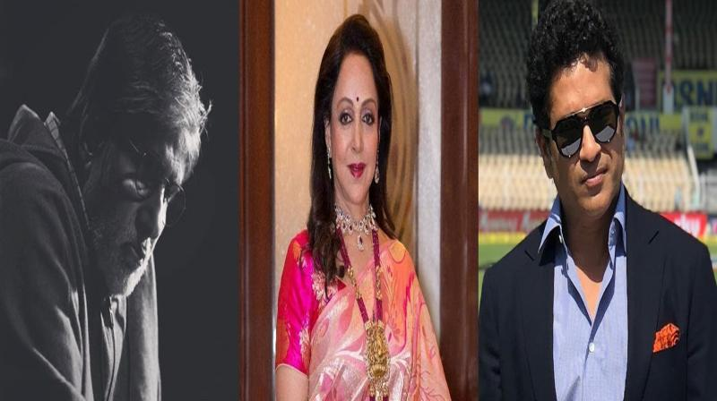 Amitabh Bachchan, Hema Malini, Sachin Tendulkar and others react to Mumbai bridge collapse incident. (Photo: Instagram)