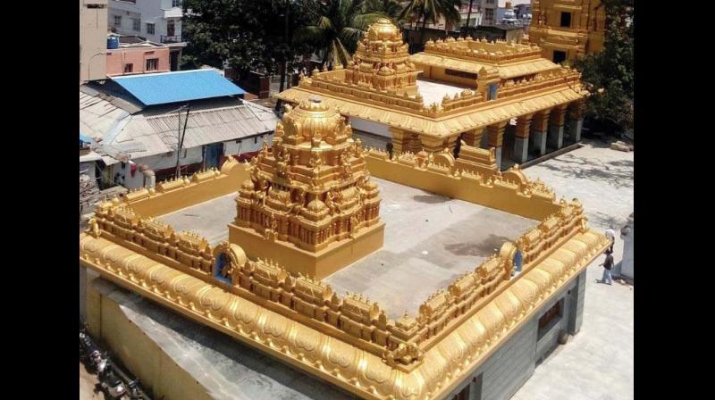 The Hassanamba Devi temple in Hassan. (Photo: DC)