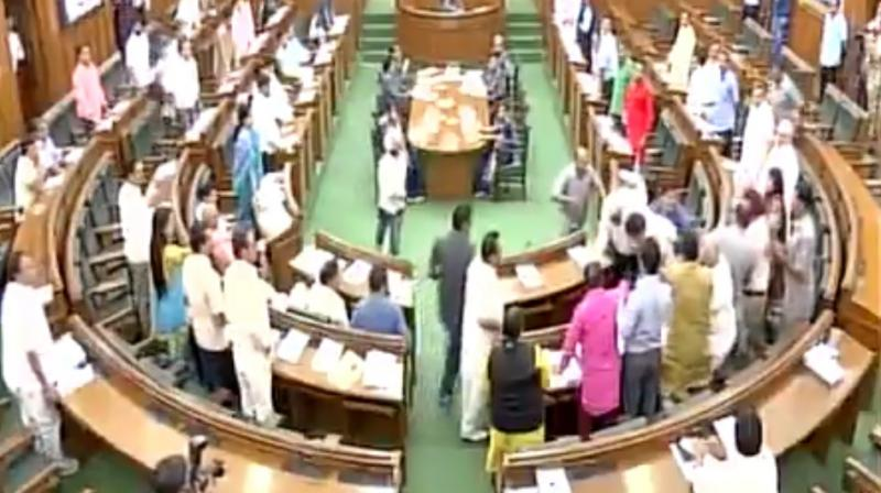 Discussions on statehood have taken place at the Delhi Assembly in the past too. (Photo: File)