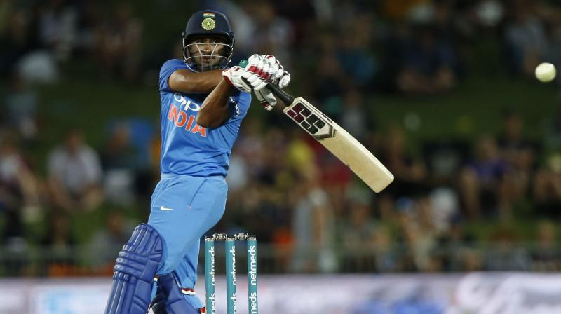 Indian middle-order batsman Ambati Rayudu took to Twitter to share that he would buy 3D glasses to watch the ICC Cricket World Cup in England later in the summer. (Photo: AP / File)