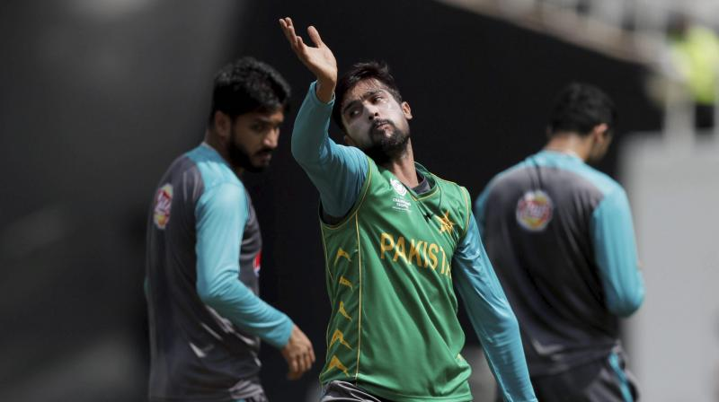 Amir who missed the 2011 and 2015 World Cup due to a five-year ban on match fixing imposed in 2010, has a lifeline as teams can be changed until May 23 -- seven days before the ten-team event starts. (Photo: AP / File)