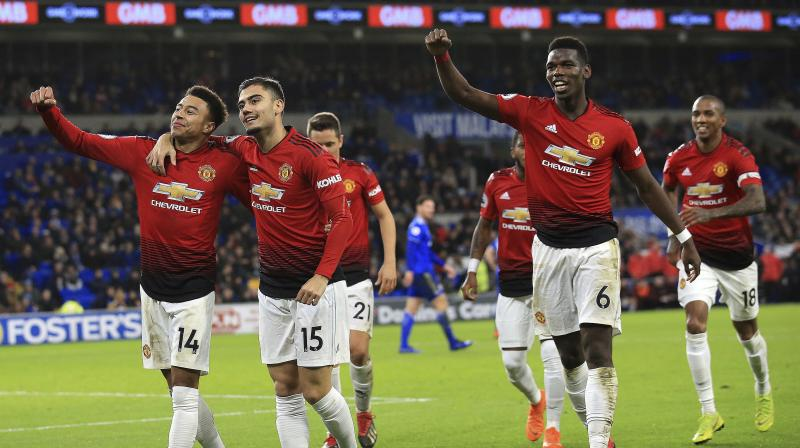 Not since Alex Ferguson's final game in charge in 2013 had Manchester United scored five goals in a single Premier League game and the Red Devils, under Ole Gunnar Solskjaer, looked a side transformed from the turgid football of Jose Mourinho's final days in charge. (Photo: AP)