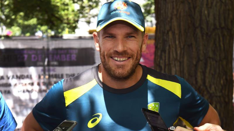 Aaron Finch (Photo: AFP)
