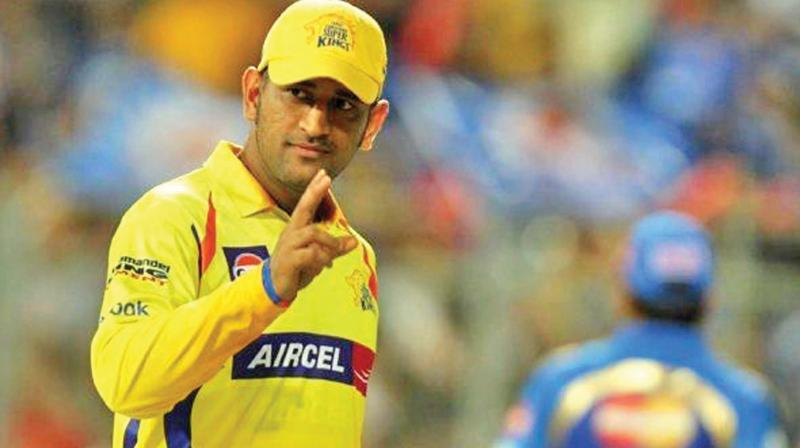 M S Dhoni in love with Chennai