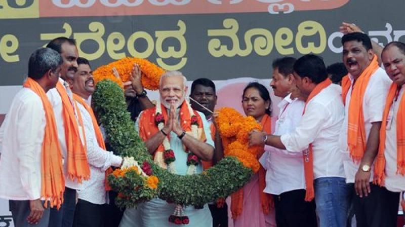 Cauvery water dispute: On delay in implementing scheme, Centre told the Supreme Court that Prime Minister Narendra Modi was busy with Karnataka Assembly elections. (Photo: PTI)