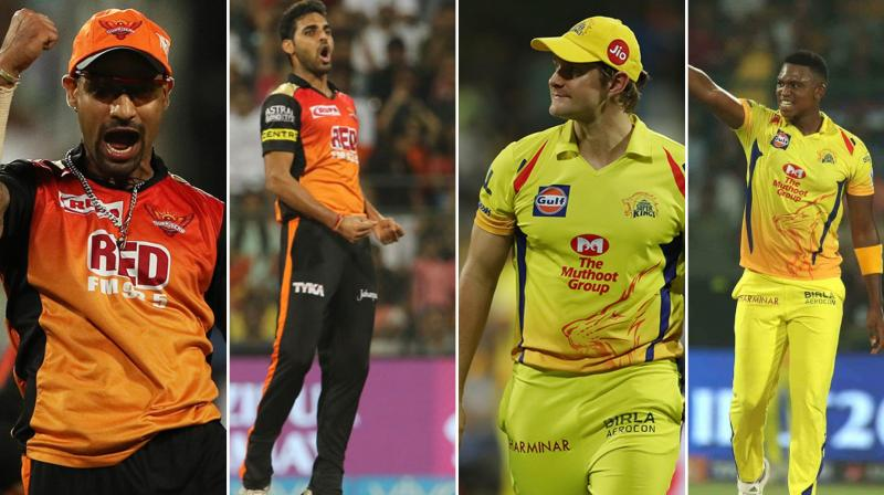 Will Sunrisers Hyderabad choke their opponent or will Chennai Super KIngs have glorius end to their fairytale journey. (Photo: BCCI)