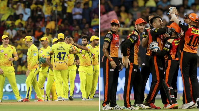 IT will be a battle of supremacy for both the teams as CSK and SRH play each other in a high profile IPL final. (Photo: BCCI)