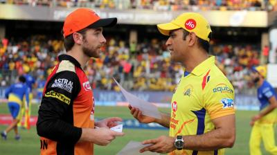 Sunrisers Hyderabad and Chennai Super Kings will give their 100 percent on the field and in the end, there will be only one team that will lift the trophy after the hard battle. (Photo: BCCI)