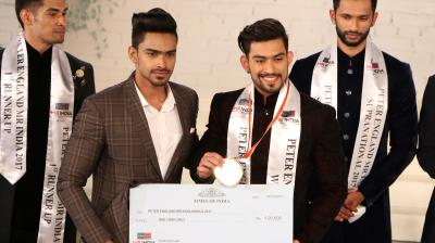Jitesh Singh Deo from Lucknow on December 14 bagged the Mr India World 2017 title. He will represent India at the Mr World competition.
