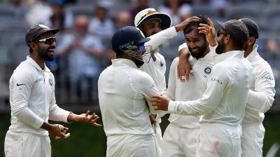 Hanuma Vihari struck with two wickets as India made a comeback. (Photo: AFP)