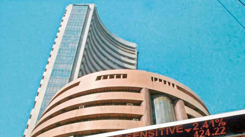 During the past week, the Sensex dropped 72 points, or 0.18 per cent to close at 39,067.33 on Friday.
