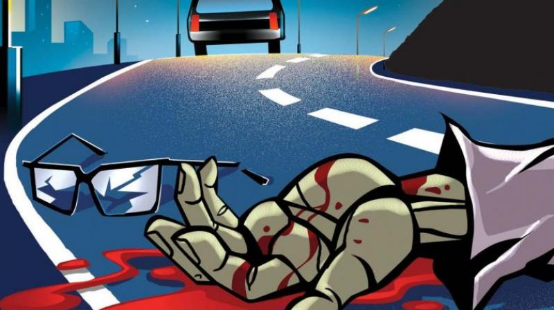 When he tried to overtake an MTC bus route 15 G plying between Broadway and M.M.D.A Colony, he lost control of the two-wheeler and skidded. (Representational Image)
