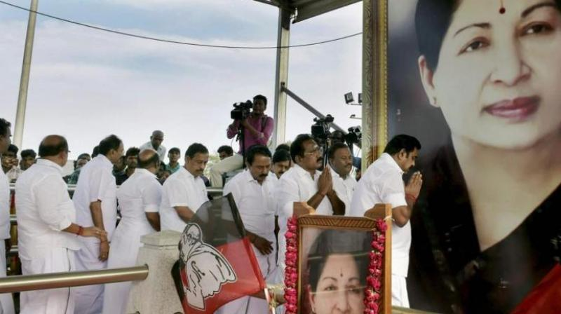 Srinivasan's comments have triggered a renewed demand by the DMK and other opposition parties for a thorough probe into the death of Jayalalithaa. (Photo: PTI)
